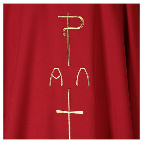 Ornat płótno poliester P krzyż jeleń 2