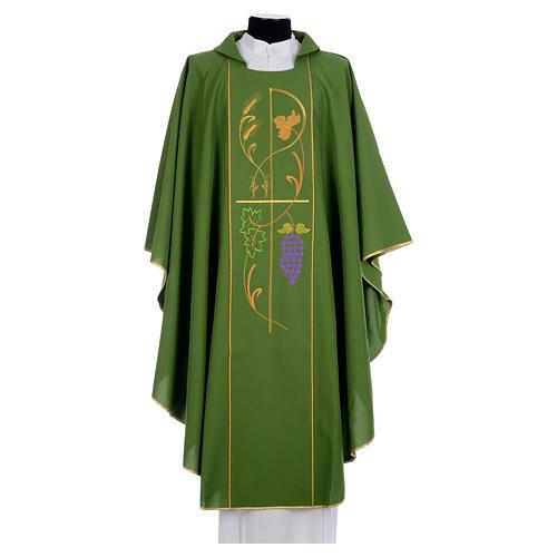 Casula sacerdotale 100% pol XP uva spighe 1