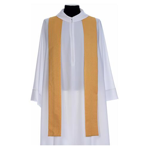 Casula dorata tessuto oro faille di mezza lana 5