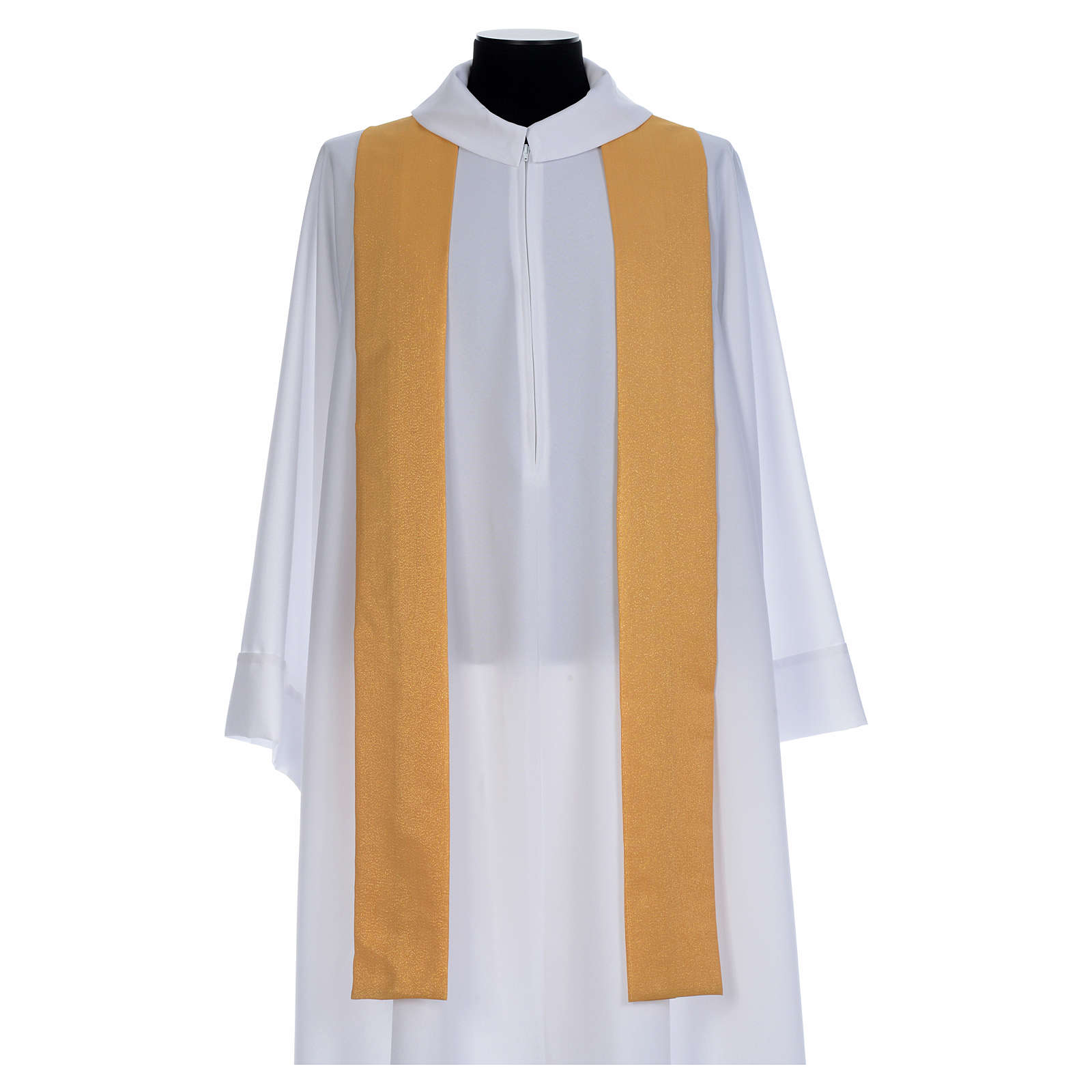 Gold Chasuble in wool faille 4