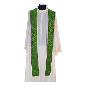 Catholic Priest Chasuble in damask sable s10