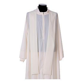 Chasuble bande avant arrière tissu Vatican 100% polyester s15