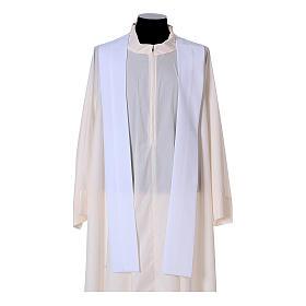 Chasuble bande avant arrière tissu Vatican 100% polyester s16