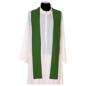Marian Chasuble with embroidered roses on both sides, Vatican fabric, 100% polyester s4