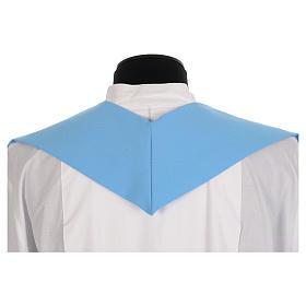Casula azzurra 100% poliestere lucido XP s6