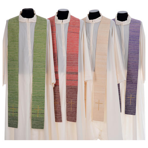 Catholic Chasuble Embroidered with Crosses 7