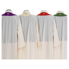 Chasuble embroidered with stylized cross s8
