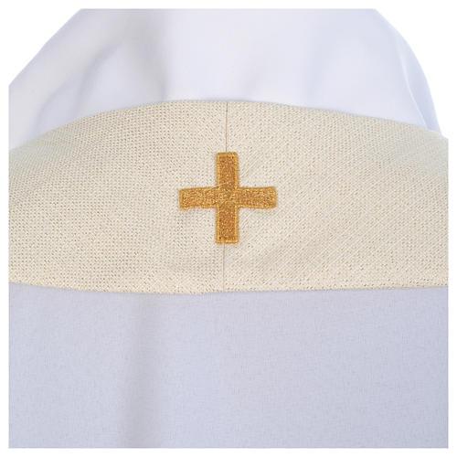 Chasuble mariale avec initiales Saint Nom de Marie 6