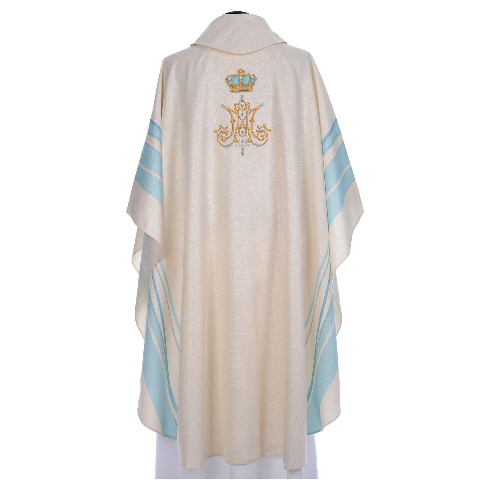 Casula Mariana con iniziali Santissimo Nome di Maria 4