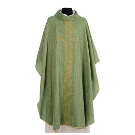 Chasuble embroidered with large cross design s3