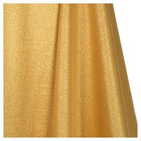 Casula raso 80% lana 20% lurex disegno croce sottile spighe lanterna s6