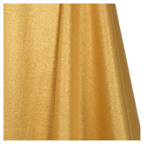 Casula raso 80% lana 20% lurex disegno croce sottile spighe lanterna 6