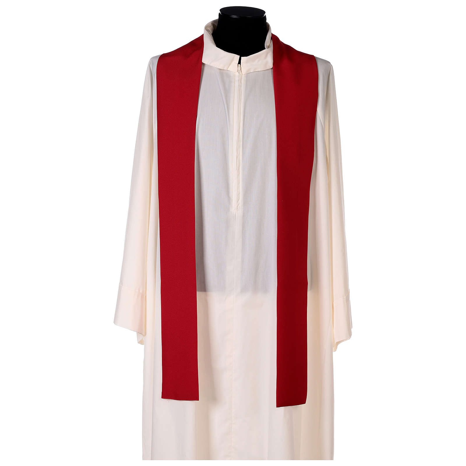 Chasuble 100% polyester décorations florales 4