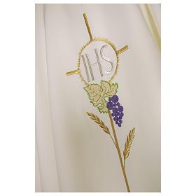 Casula 100% poliestere decori floreali s6