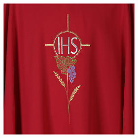IHS grapes Gothic Chasuble 100% polyester s2