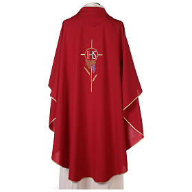 IHS grapes Gothic Chasuble 100% polyester s4