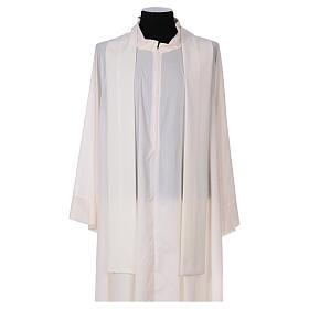 Casula sacerdotale 100% poliestere croce spighe alfa s4
