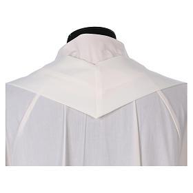 Casula sacerdotale 100% poliestere croce spighe alfa s5