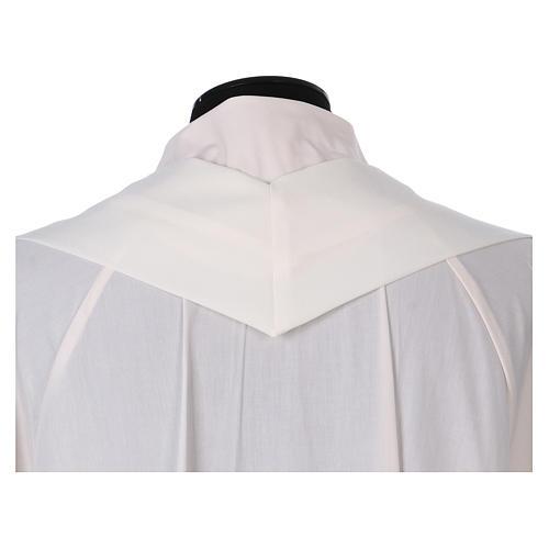 Casula sacerdotale 100% poliestere croce spighe alfa 5