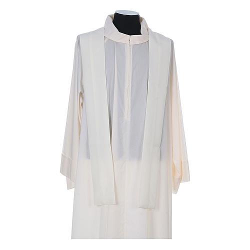 Chasuble prêtre 100% polyester avec épis croix raisin 11