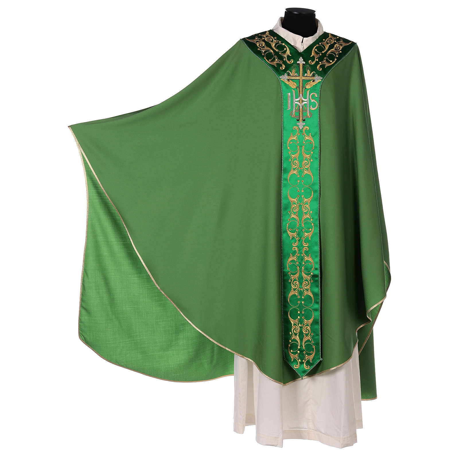 Chasuble 100% wool with cross 4