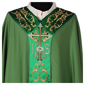 Chasuble 100% wool with cross s3
