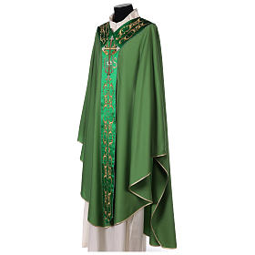 Chasuble 100% wool with cross s4