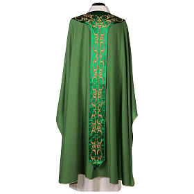Chasuble 100% wool with cross s6