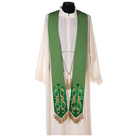 Chasuble 100% wool with cross s7