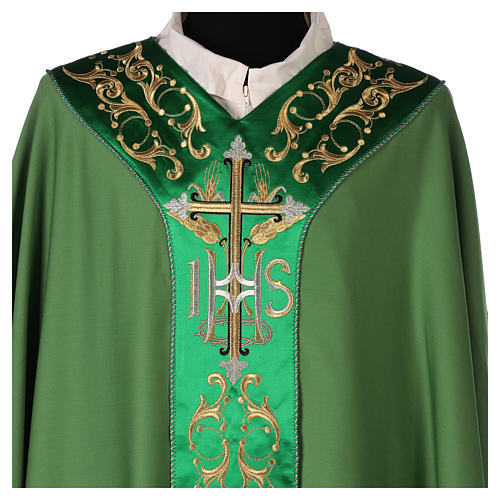 Chasuble 100% wool with cross 3