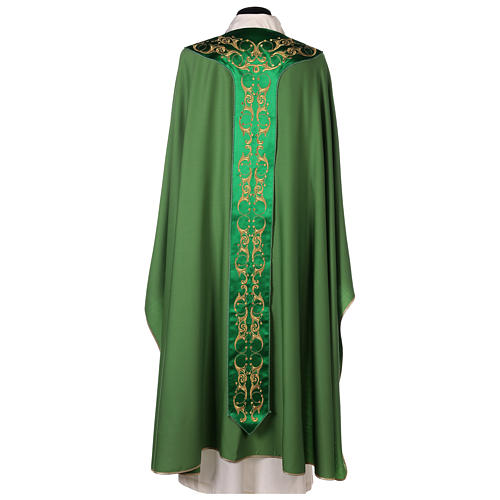 Chasuble 100% wool with cross 6