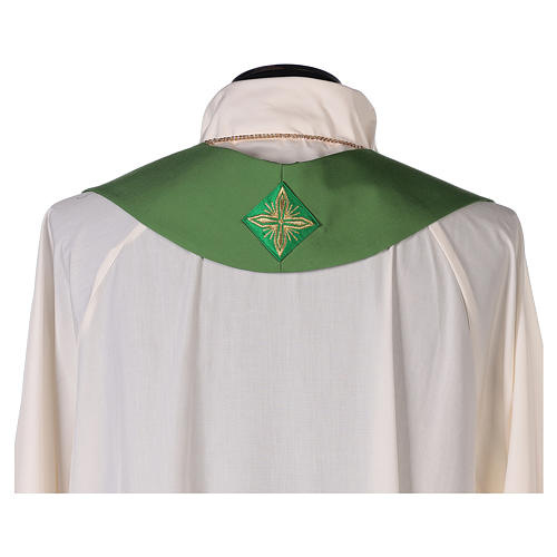 Chasuble 100% wool with cross 9