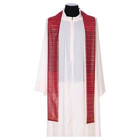 Sacred Chasuble 100% wool Tasmania with three crosses s5