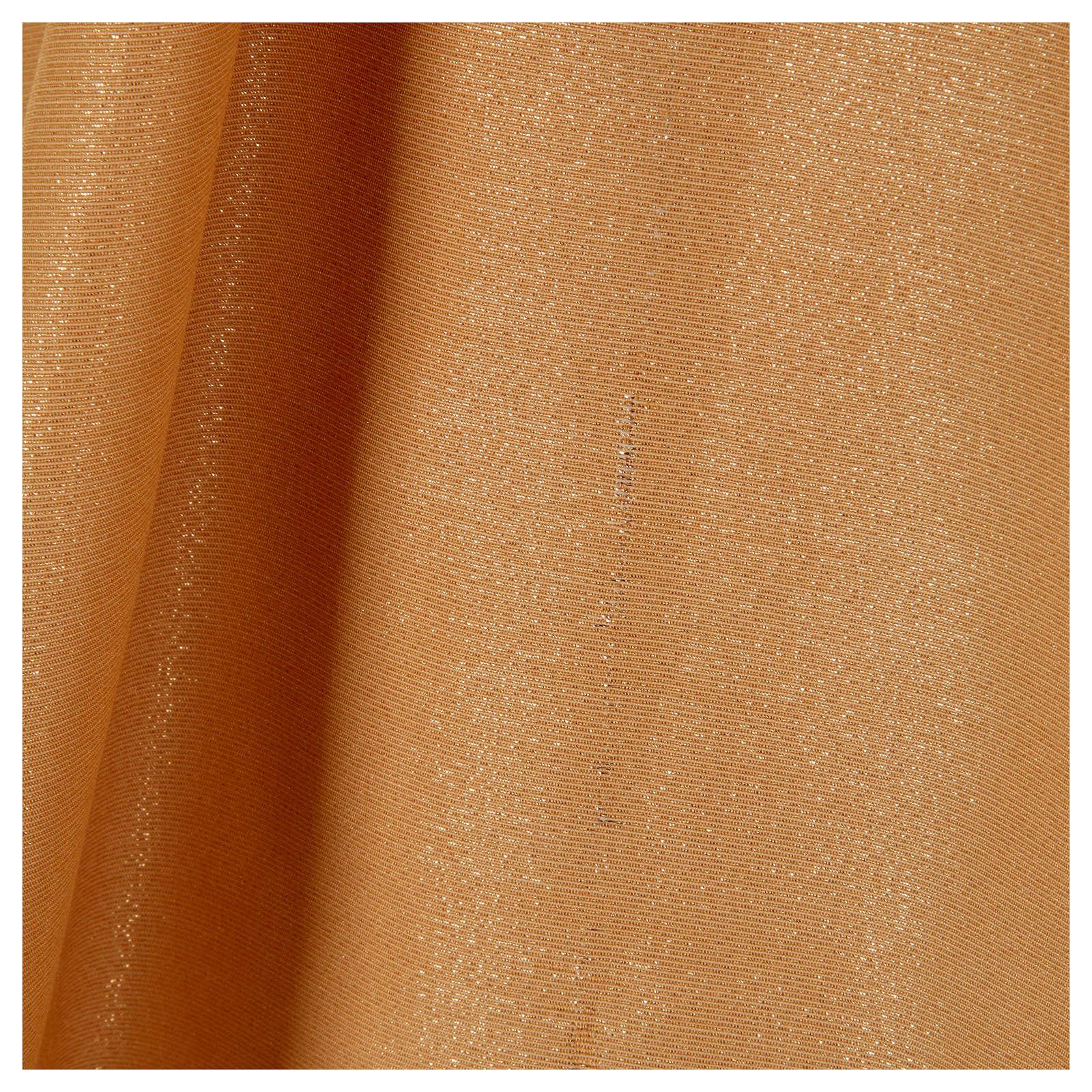 STOCK Casula dorata tessuto oro faille di mezza lana PICCOLO DIFETTO 4