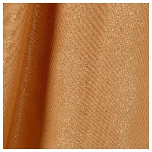 STOCK Casula dorata tessuto oro faille di mezza lana PICCOLO DIFETTO 5