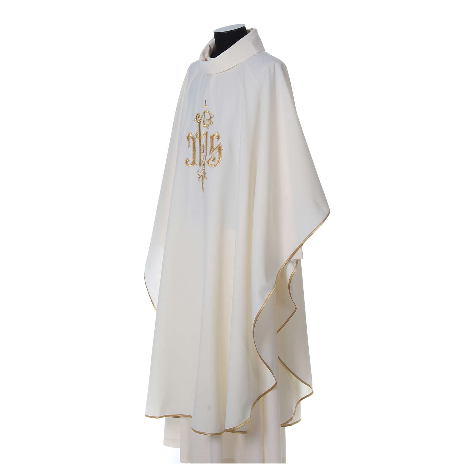 Chasuble polyester décor IHS 4