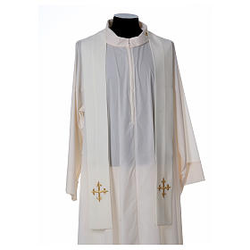 Chasuble polyester décor IHS s5