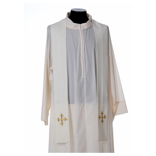 Chasuble polyester décor IHS 5
