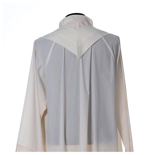 Chasuble polyester décor IHS 6