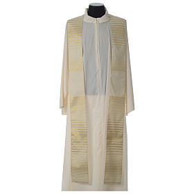 Cross chasuble wool and lurex s7