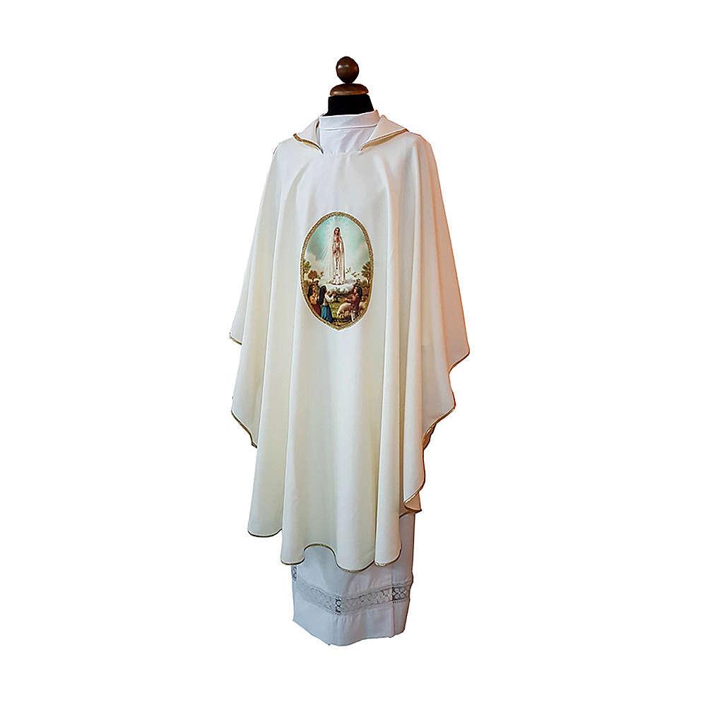 Casula mariana stampa personalizzabile Madonna di Fatima 4