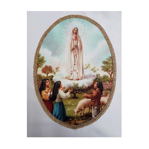 Casula mariana stampa personalizzabile Madonna di Fatima 2