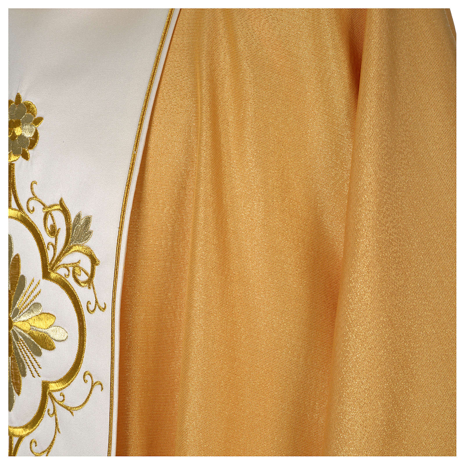 Casula oro stolone pura lana oro 4