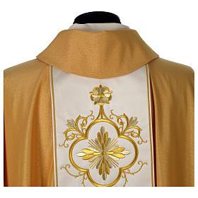 Casula oro stolone pura lana oro s6