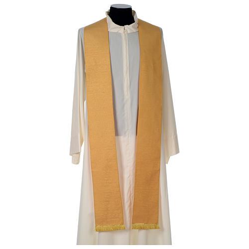 Casula oro stolone pura lana oro 7