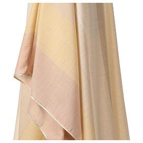 Chasuble en dégradé sur précieux tissu laine lurex s4