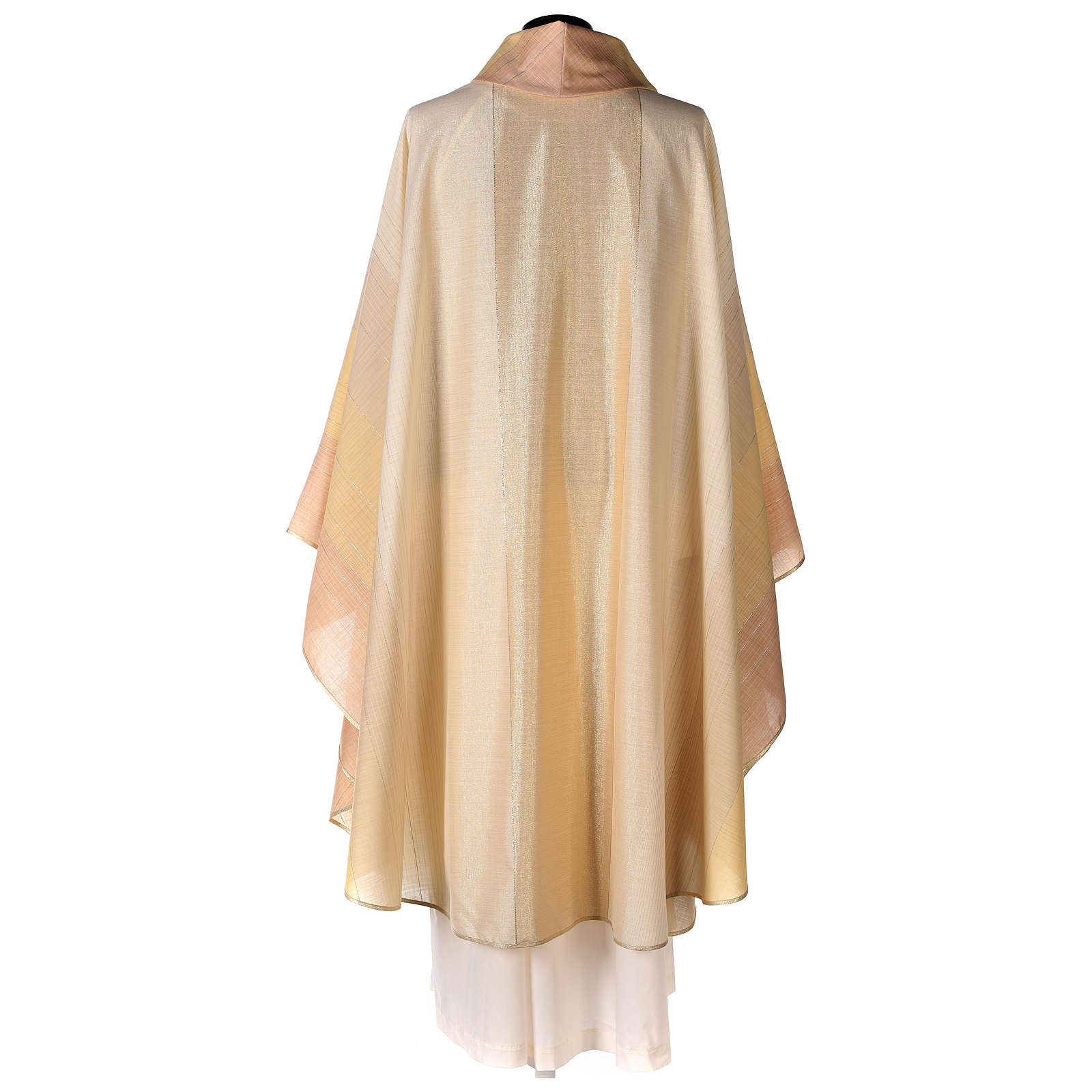 Blended Color Chasuble in wool and lurex 4