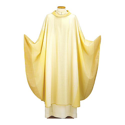 Blended Color Chasuble in wool and lurex 1