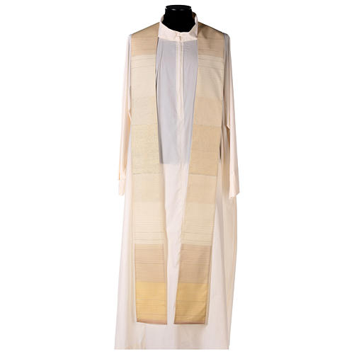 Blended Color Chasuble in wool and lurex 6