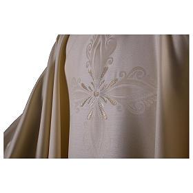 Casula in lana seta lavorata su telai Jacquard s2